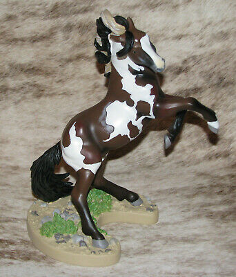 """TRAIL OF PAINTED PONIES Dance of the Mustang~Low 1E/0920~Pinto Named """"Picasso"""""""