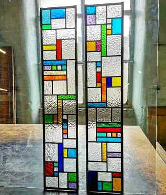 Stained Glass windows, Traditional door panels, modern design,made to measure