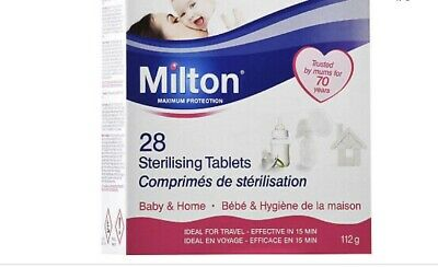 Milton Maximum Protection 28 Sterilising  Tablets