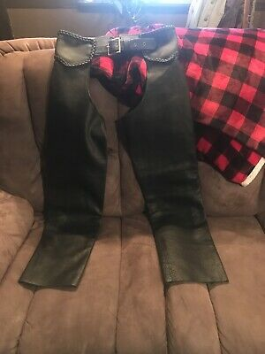 Leather Chaps Size Large