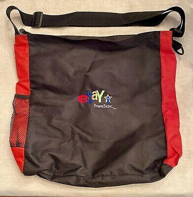 Ebay Live! Convention Powerseller Canvas Tote Bag Zippered  & Adjustable Handle