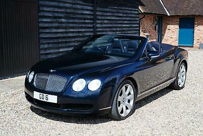 2007 Bentley Continental 6.0 GTC 2dr Auto Convertible Petrol Automatic