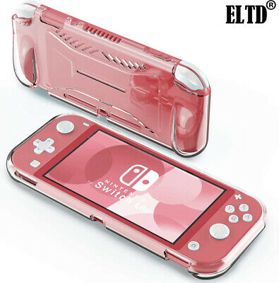 For Nintendo Switch Lite Transparent 360 Case Full Protective Cover Shell Clear