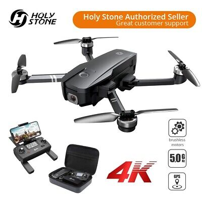 Holy Stone HS720 4K UHD Camera drone GPS quadcopter brushless 5G FPV CASE gray