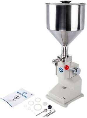 5-50ml Manual Filling Machine For Liquid Soap 0.17-1.7oz Paste/Liquid Filler