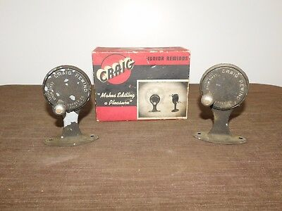 Vintage Movie Film Editing Craig Junior Rewinds In Box