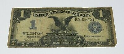 1899 $1 Black Eagle One Dollar Silver Certificate Large Note