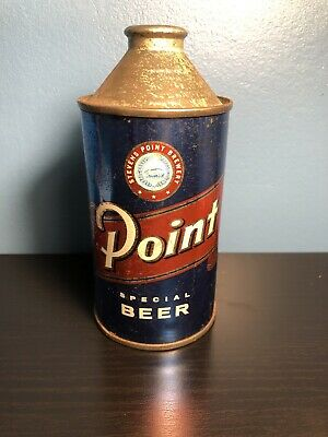 Point Cone Top Beer Can!