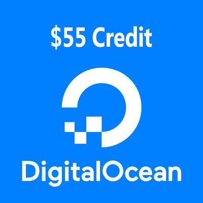 DigitalOcean Activated Account With $55 Credits | One Year