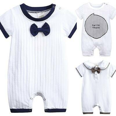 Newborn Infant Baby Boys Girls Romper Jumpsuit Outfit Clothes Leotard Playsuits