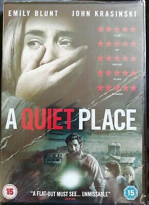 A Quiet Place (DVD, Aug-2018) New in wrapper