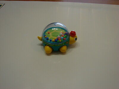 Adorable - Pushing - Popping Turtle - Red hat toy - 5 x 4 inches