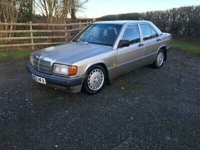 1990 Mercedes 190 2.6 Manual Project/ Barn Find