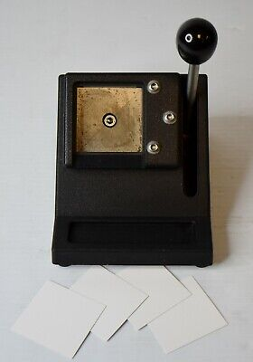 """Professional Table Top 2""""x 2"""" Passport Photo ID Die Cutter / Punch"""