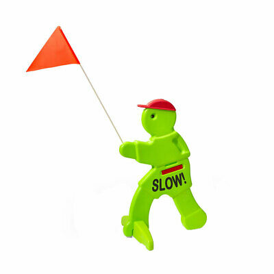 Step2 Kid Alert Visual Warning Signal Children at Play Safety Sign, Neon Green