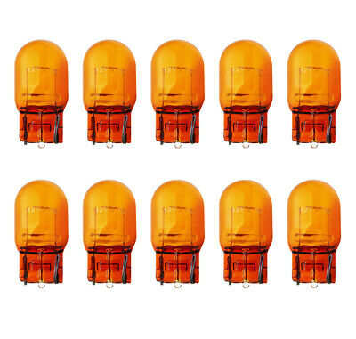 New 582 Amber Light Bulbs 12V 21W Cars 10x Supplied Long Life