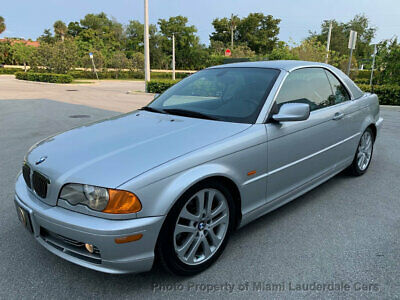 2001 BMW 3 Series 330Ci Convertible Hardtop One Owner Ultra Low Miles Clean Carfax Factory Hardtop Convertible Garage Kept