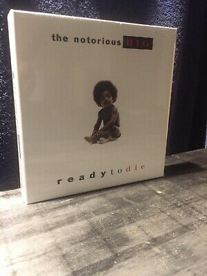 "The Notorious big ready to die 7"" 45 box set 9 vinyl records! RARE! Mint"