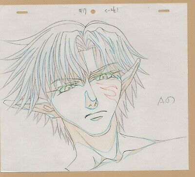 Saiyuki Prod Drawing Sketch cel - Set of 5 #A anime - Check 'em out
