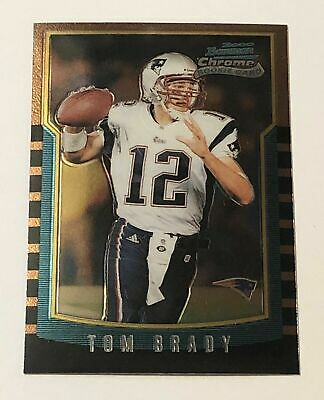 2000 Bowman Chrome Tom Brady Rookie RC #236 New England Patriots MINT PSA 10?