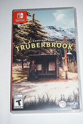 Truberbrook Trüberbrook (Nintendo Switch) Complete GREAT Shape