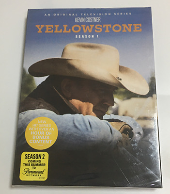 YELLOWSTONE : Complete Series Season 1 Brand New & Sealed (DVD,4-Disc Set)