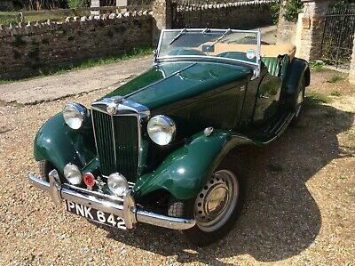 MG TD. 1953. In British Racing Green, excellent cond.