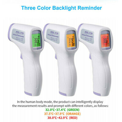 Non Contact FAST Infrared Sensor Digital Forehead Baby And Adult Thermometer