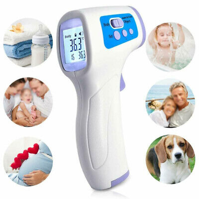 NON CONTACT Body & Adult Forehead IR Infrared Sensor Digital Thermometer NEW