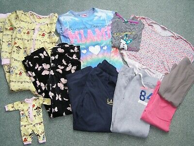Bundle of girls clothes age 8-10 LA Gear H&M pyjama with matching doll outfit