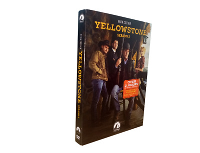 Yellowstone Season 2 (DVD, 4-Disc Set) Free Shipping New
