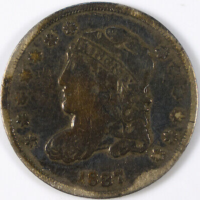 1837 Capped Bust Half Dime
