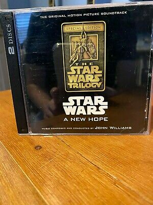 Star Wars A New Hope Original Motion Picture Soundtrack Cd 8 99 Picclick