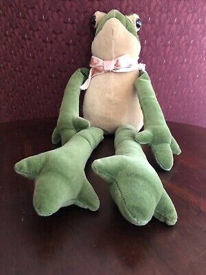 "Vintage 18"" Frog Stuffed Animal"
