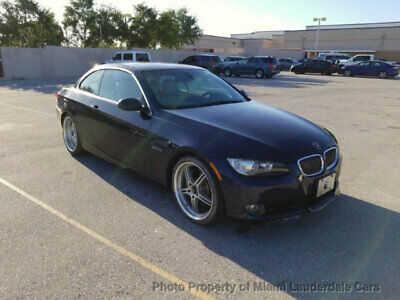 2007 BMW 3 Series 335i Hardtop Convertible 2007 BMW 335i Twin Turbo Hardtop Convertible Low Miles Clean Carfax NO RESERVE
