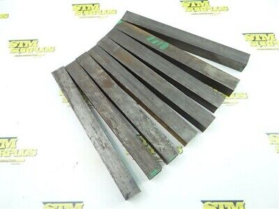 "21Lb Solid Steel Bar Stock 1"" X 1"" X 9-1/2"" Lengths"