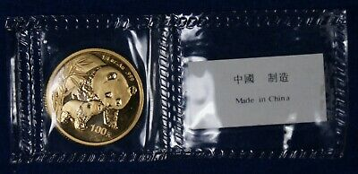 2004 100Y China 1/4 Oz. Gold Panda **Original Packaging**
