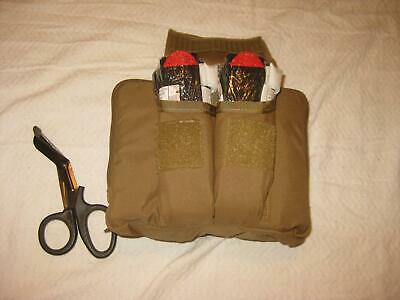 N.a.r. Cmec Chest Pouch Coyote With Contents Training Aid