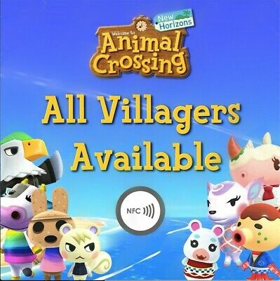 Animal Crossing: New Horizons, Amiibo NFC Stickers - CHOOSE YOUR VILLAGER