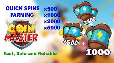 Coin Master SPIN FARMING ✔✔ Fast 'n' Safe🔥🔥NO NEED YOUR FB