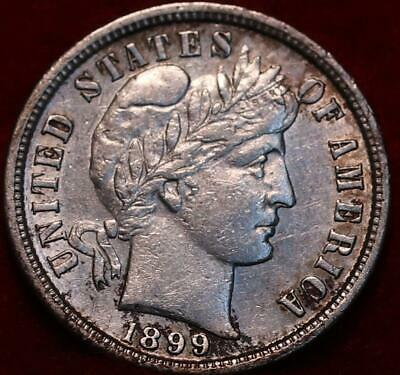 Uncirculated 1899-S San Francisco Mint Silver Barber Dime