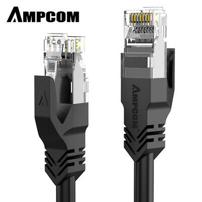AMPCOM CAT5e Ethernet cable Internet Network Cable for Computer Router PC Mac
