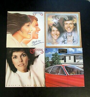 LOT, 4 CARPENTERS LPs ... ALL VINYL  in Very Good+ Condition