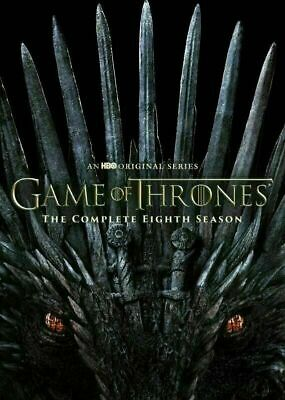 Game Of Thrones Complete Season 8 ( 2019 DVD 4-Disc ) Brand New Free Shipping