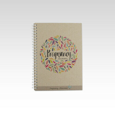 Pregnancy Journal- Baby Book- Keepsake Memory Journal. Rhicreative. A5