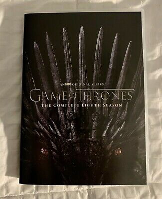 Game of Thrones Complete Season 8 DVD ~AWESOME DEAL~ FREE SHIPPING!