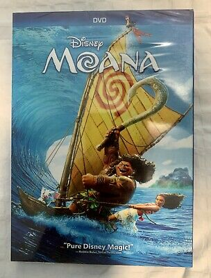 Moana (DVD, 2016, Disney)~~AWESOME DEAL~~ FREE SHIPPING