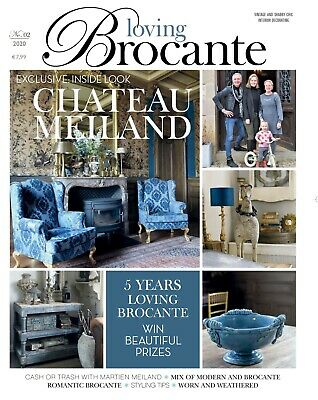 Loving Brocante Magazine Issue No. 2 May 2020 Antiques Interiors
