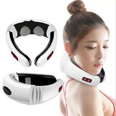 Electric Cervical Neck Massager Body Shoulder Relax Massage Relieve Pain USA