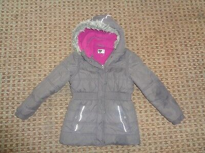 Back to School-GIRLS HOODED JACKET age 7-8-9 OUTDOORWEAR EVERYDAY SCHOOL CASUAL